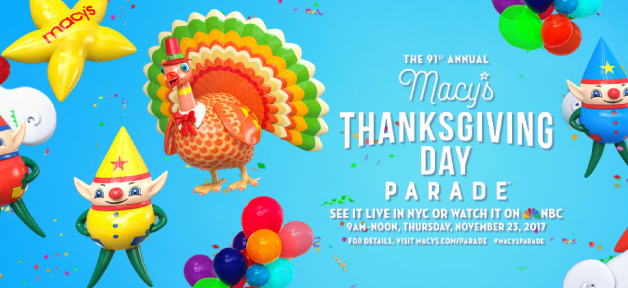 Macy's Thanksgiving Day Parade 梅西百貨感恩節遊行 (11/23)