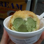 紐約市夏日消暑冰淇淋甜品 — 布朗尼冰淇淋 油炸冰淇淋
