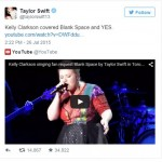 Kelly Clarkson翻唱《Blank Space》,Taylor Swift也公開點讚支持