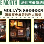 STORE OF THE MONTH: MOLLY'S SHEBEEN 紐約市最傳統的愛爾蘭小酒館
