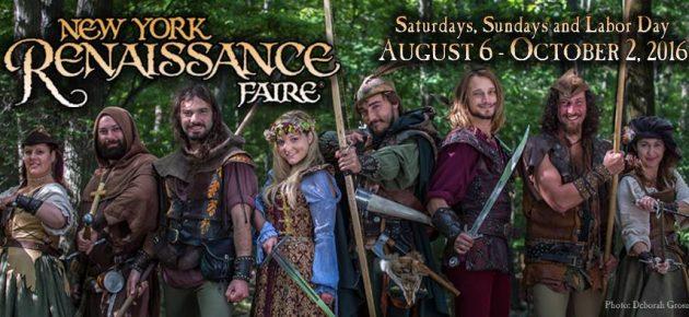 New York Renaissance Faire 文藝復興博覽會 (8/6 – 10/2)