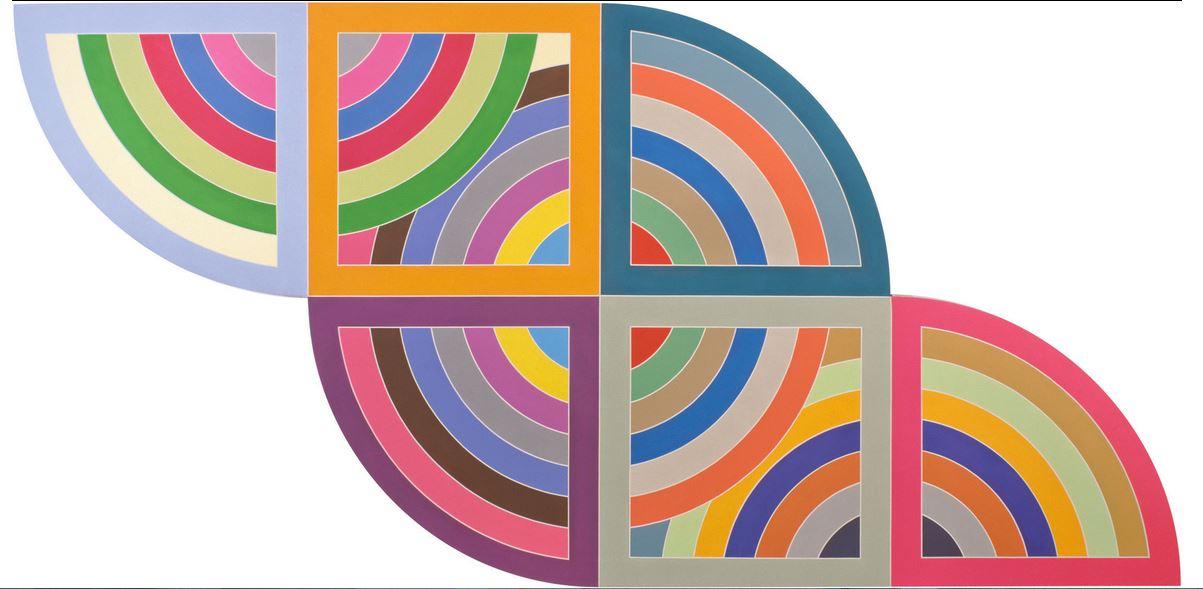 Frank Stella Exhibition