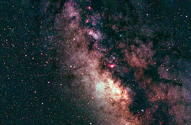 The constellation Sagittarius, as seen from Cherry Springs State Park, Pennsylvania