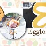 香濃華夫餅與櫻花冰淇淋的完美結合 Eggloo