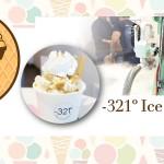 紐約目前唯一的液態氮冰淇淋 -321º Ice Cream Shop!