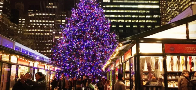 Bryant Park Winter Village冬日市集即將開跑!(10/27-1/2)