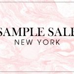 購物時間!紐約 SAMPLE SALE 大集合~ (11/14 – 12/3)