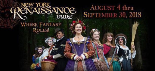 New York Renaissance Faire 文藝復興博覽會 (8/4-9/30)