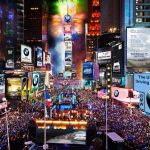 Times Square New Year's Eve 時報廣場跨年夜 (12/31)