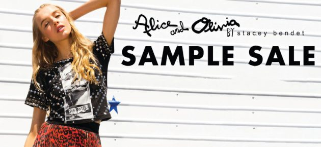 【紐約SAMPLE SALE速報】Alice + Olivia、French Connection、Marc Jacobs…(12/11-23)