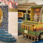 Canstruction罐頭創意模型展回歸Brookfield Place (11/7-21)